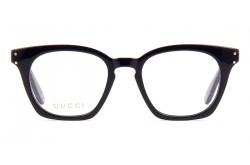 نظارة طبية GUCCI للرجال مربع لون أسود  - GG0572O 001