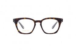 نظارة طبية GUCCI للرجال مربع لون نمري  - GG0572O 002