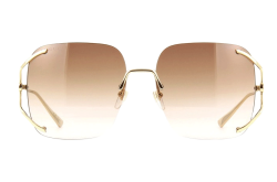 GUCCI SUNGLASS FOR WOMEN SQUARE BROWN - GG0646S 002
