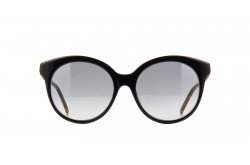 GUCCI SUNGLASS FOR WOMEN ROUND BLACK - GG0653S  001
