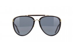 GUCCI SUNGLASS FOR MEN AVIATOR BLACK GOLD - GG0672S 001