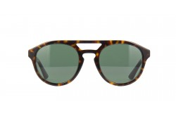 GUCCI SUNGLASS FOR UNISEX ROUND BROWN SILVER- GG0689S 002