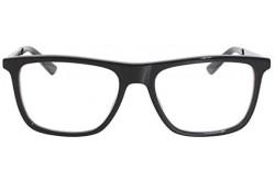 نظارة طبية GUCCI للرجال مستطيل لون أسود و فضي  - GG0691O 001