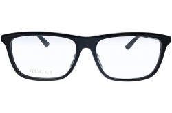 نظارة طبية GUCCI للرجال مستطيل لون أسود  - GG0696OA 001