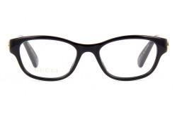 نظارة طبية GUCCI للنساء كات آي لون أسود  - GG0717O 001