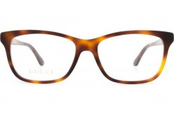 نظارة طبية GUCCI للنساء مستطيل لون نمري  - GG0731O 002