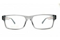 نظارة طبية GUCCI للرجال مستطيل لون رمادي  - GG0752O 003