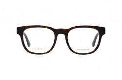 GUCCI FRAME FOR UNISEX SQUARE TIGER AND BLACK - GG0764O 002