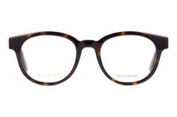 نظارة طبية GUCCI للرجال و النساء دائري لون نمري  - GG0769O 002