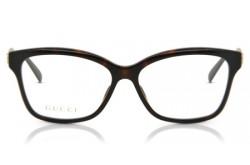 نظارة طبية GUCCI للرجال والنساء مربع لون نمري  - GG0798O 005