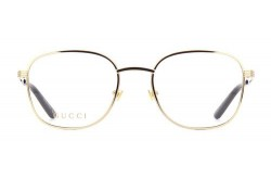 GUCCI FRAME FOR UNISEX SQUARE GOLD - GG0805O 001