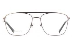 نظارة طبية GUCCI للرجال آفياتور لون فضي  - GG0833O 003