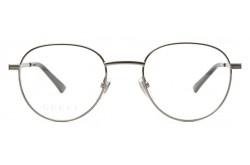نظارة طبية GUCCI للرجال دائري لون رمادي غامق  - GG0835O 002