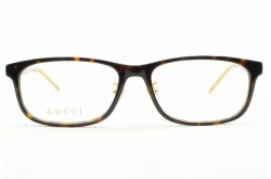 نظارة طبية GUCCI للرجال مستطيل لون أسود  - GG0858OJ 001