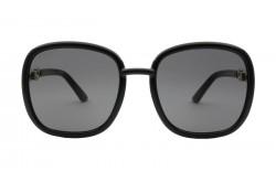 نظارة شمسية GUCCI للنساء مربع لون أسود  - GG0893S 001