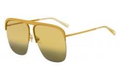 نظارة شمسية GIVENCHY للرجال و النساء مربع لون ذهبي - GV7173S 40GEG