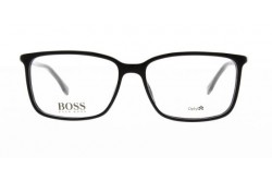 HUGO BOSS FRAME FOR MEN RECTANGLE BLACK - 0679N 807