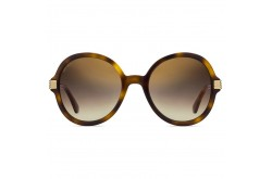 JIMMY CHOO SUNGLASS FOR WOMEN ROUND TIGER AND GOLD - ADRIAGS 086JL