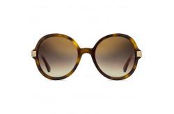 نظارة شمسية JIMMY CHOO للنساء دائري لون نمري و ذهبي - ADRIAGS 086JL