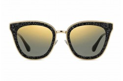 JIMMY CHOO SUNGLASS FOR WOMEN TRENDS CAT EYE BLACK AND GOLD - LIZZY/S  2M2/K1
