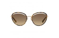 نظارة شمسية JIMMY CHOO للنساء كات أي لون نمري و ذهبي - MALYAS 06JHA