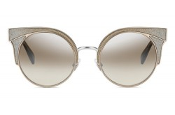 JIMMY CHOO SUNGLASSES FOR WOMEN CAT EYE GOLD AND SILVER - ORAS 1KLNQ