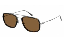 LEVIS SUNGLASS FOR MEN SQUARE TIGER AND SILVER - LV5003S 08670