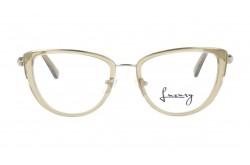 نظارة طبية LUXURY للنساء كات آي لون بيج شفاف - LUX1024 4