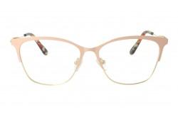 نظارة طبية LUXURY للنساء كات آي لون بيج و ذهبي - LUX3742 2