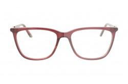 نظارة طبية LUXURY للنساء مربع لون أحمر و فضي  - LUXCOB8054 4