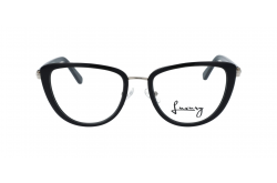 LUXURY FRAME FOR WOMEN CAT EYE BLACK - LX1024 01