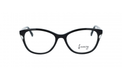 LUXURY FRAME FOR WOMEN CAT EYE BLACK - LX1044 01