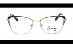 نظارة طبية LUXURY للنساء كات أي لون أزرق و ذهبي - LX1909S 1