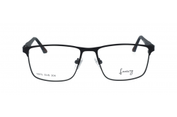 LUXURY FRAME FOR MEN SQUARE BLACK - LX33903 1187