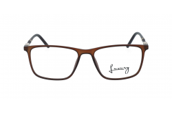 LUXURY FRAME FOR UNISEX SQUARE BROWN - LX6201 1