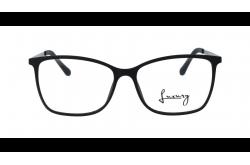 LUXURY FRAME FOR UNISEX SQUARE BLACK - LX6222 2