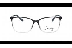 LUXURY FRAME FOR UNISEX SQUARE GRADIENT BLACK - LX6222 5