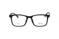 LUXURY FRAME FOR UNISEX RECTANGLE BLACK - LX8077 2