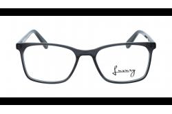 LUXURY FRAME FOR UNISEX RECTANGLE BLACK - LX97025 5