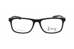 LUXURY FRAME FOR MEN RECTANGLE BLACK - LXW2361B 5