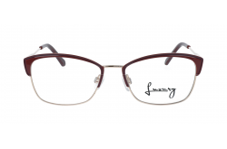 LUXURY FRAME FOR UNISEX CAT EYE BROWN AND GOLD - LXYJ0043 2