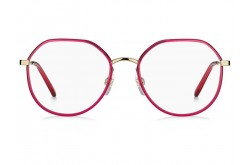 MARC JACOBS FRAME FOR WOMEN ROUND RED AND GOLD - MARC506 LHF