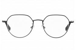 نظارة طبية POLAROID  للرجال والنساء دائري لون رمادي غامق - D362/G   85K