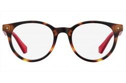 نظارة طبية POLAROID  للأطفال دائري لون أحمر - PLDD814 O6318