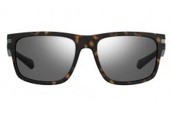 نظارة شمسية POLAROID للرجال مستطيل لون نمري  - PLD2066S N9PEX