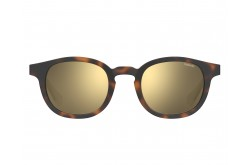 نظارة شمسية POLAROID للرجال مربع لون نمري  - PLD2096S 086LM