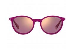 نظارة طبية مع عدسات شمسية POLAROID للنساء بيضاوي لون وردي  - PLD6137CS 35JA2