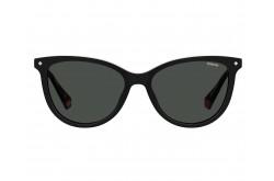 نظارة طبية مع عدسات شمسية POLAROID للرجال والنساء كات آي لون أسود  - PLD6138CS 807M9