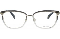 POLICE FRAME FOR WOMEN SQUARE GOLD AND TIGER - VPLA91 0300