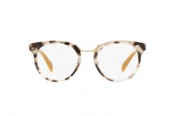 نظارة طبية PRADA للنساء دائري لون نمري و بني - PR03UV UAO1O1